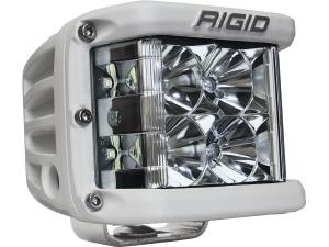 Rigid Industries D-SS Silver Finish Single LED Light (86111)