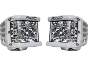 Rigid Industries D-SS Black Finish Single LED Light (86211)