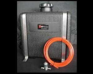 Snow Performance 7 Gallon Reservoir (w/ bracket, solenoid & hose)