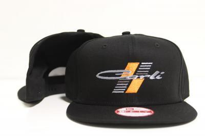 Carli New Era 9FIFTY Flat Bill Snapback Black Hat (CS-HAT-BLK-SNAP