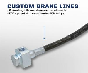 Carli Dodge Ram 2500/3500 Stainless Braided Brake Lines (CS-D6BBL)