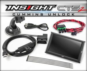 Edge Insight CTS2 Monitor with Unlock Cable for 13-16 Cummins (84132)