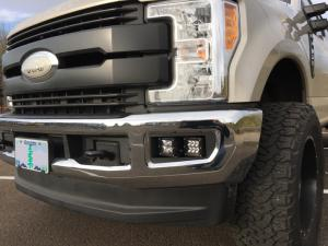 KD Fabworks 2017+ F250/350 Dual Rigid Dually Mounts (TR-0027)