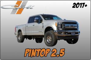 Carli 2017+ Ford SuperDuty Pintop 2.5 System (CS-FLVL-PT25-17)
