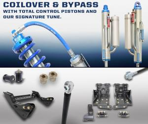 Carli Ford 4.5 Coilover-Bypass 2.5 System (CS-F45-CO25-BYP-11)