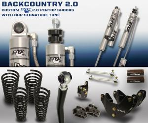 Carli Dodge Backcountry System 2014+ Diesel (CS-DBC20-14-D)