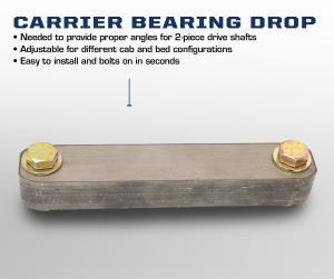 Carli Dodge Carrier Bearing Drop (CS-CARRIERDROP-D)
