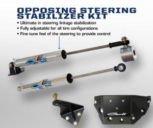 Carli Dodge Opposing Stainless Steering Stabilizer Kit (CS-DSSOK-Y)