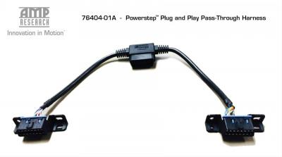 AMP Research Powerstep Plug and Play Pass Through Harness (76404-01A)