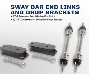 Carli 2017 Ford Sway Bar End Link Kit