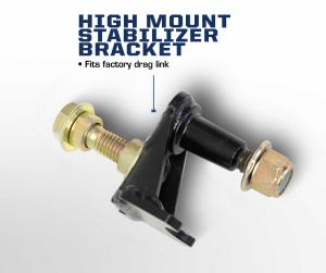 Carli 2017 Ford Stainless High Mount Steering Stabilizer (CS-FHMS-SS-17)