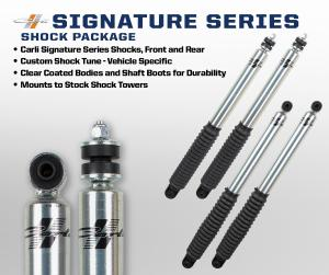 Carli Signature Series Shocks