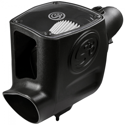 S&B 08-10 6.4 Powerstroke Cold Air Intake Kit Dry Filter
