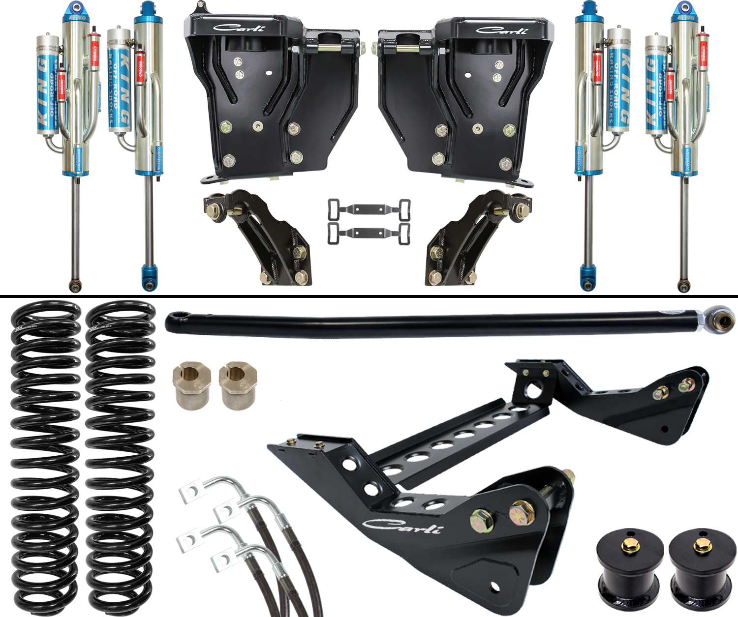 """NEW 05-16 Ford F250 F350 Super Duty 3.0/"""" Front Leveling Lift Kit 4WD 4X4"""