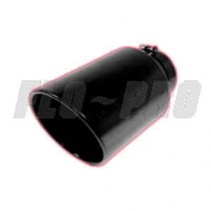 Flo Pro Black Exhaust Tip 4x5x15