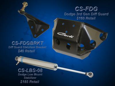 Carli Dodge Diff Guard Stabilizer Bracket