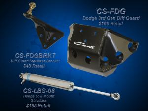 Carli Dodge Diff Guard Stabilizer Bracket