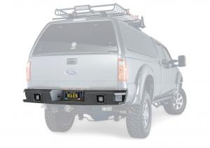 Warn 11 - 16 Ford Super Duty Ascent Rear Bumper (96290)