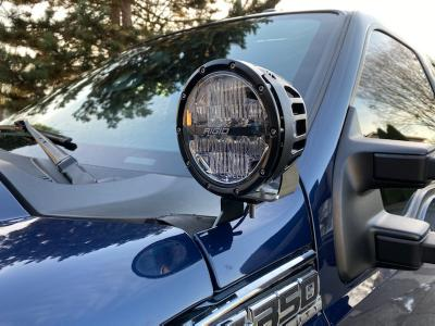 KD Fabworks A-Pillar Light Mounts - 11-16 Ford Superduty F250 F350 (TR-0044)