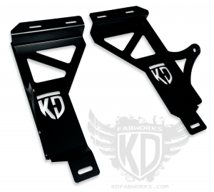 "KD Fabworks Bumper bracket for 20"" LED Light Bar - 99.5-04 Ford F250/F350/Excursion (TR-0004)"