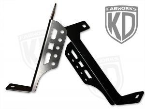 KD Fabworks 20'' LED Bumper Brackets 11-16 Ford (TR-0008)