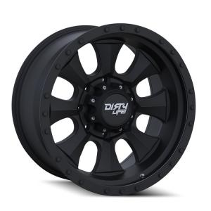 Dirty Life Wheels IRONMAN 9300 Matte Black (9300)