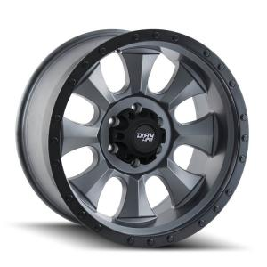 Dirty Life Wheels IRONMAN 9300 GunMetal (9300)