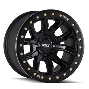 Dirty Life Wheels DT-1 9303 Matte Black w/ Simulated Ring (9303)