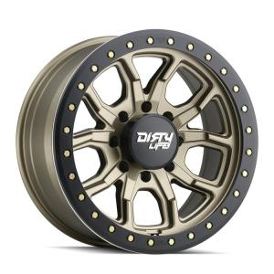 Dirty Life Wheels DT-1 9303 Satin Gold w/ Simulated Ring (9303)