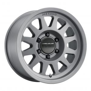 Method Race Wheels Matte Titanium