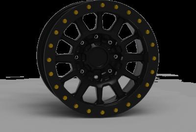 INNOV8 G600 Simulated Beadlock Wheel 17x8.5 (G600SBL)