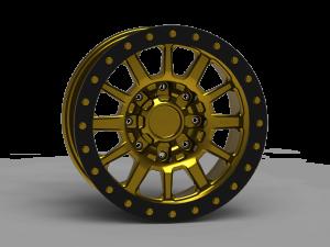 INNOV8 G500 Beadlock Wheel 17x9 (G600BL)