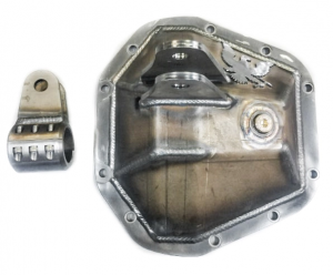 PMF 2005-2020 Ford Ram Assist Diff Cover w/ Bolt on Tierod Mount (PMF-COV-9001-RAM)