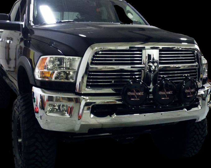 Pattonfab dodge lo pro 3 tab light bar mozeypictures Image collections