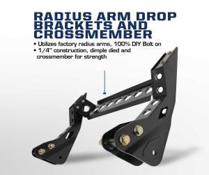 Carli Ford Radius Arm Drop Brackets