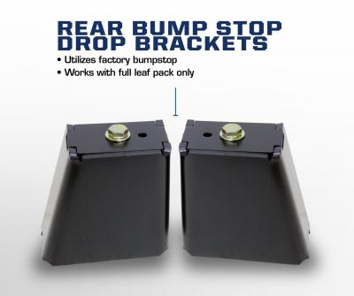 Carli Ford Full Spring Pack rear bump stop drop brackets