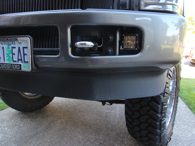 Rigid Industries Super Duty Dually Fog Light Brackets