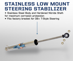 Carli Low Mount Stainless Stabilizer