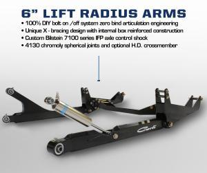 Carli 6 Radius Arm System