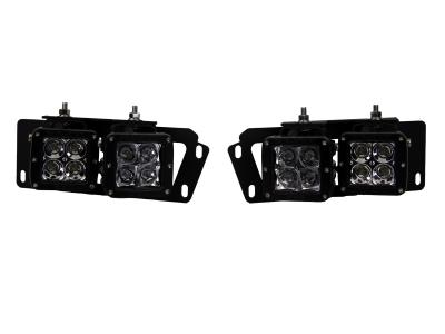 Rigid Dodge Ram 2500/3500 Fog Light Brackets