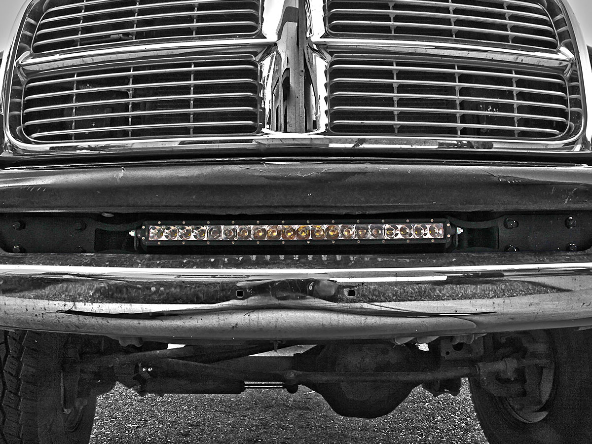 Rigid dodge ram 25003500 light bar brackets mozeypictures Image collections