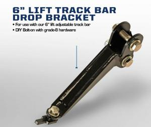 Carli Dodge Track Bar Drop Bracket