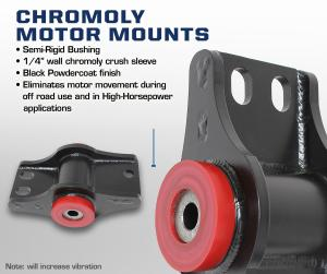 Carli Chromoly Motor Mounts