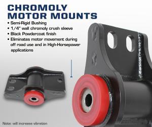Carli Chromoly Motor Mounts