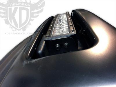 KD Fabworks 40 Curved Bumper Brackets 2011+ Ford