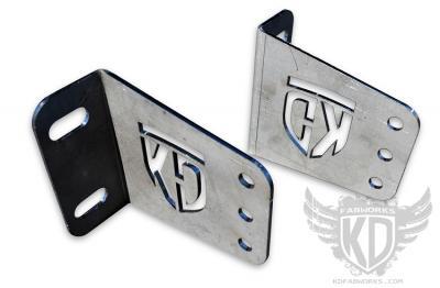 KD Fabworks 40 Straight Bumper Brackets 2011+ Ford