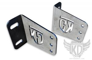 KD Fabworks 40 Straight Bumper Brackets 2011+ Ford