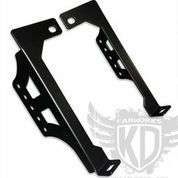 KD Fabworks 20 LED Bumper Brackets 08-10 Ford
