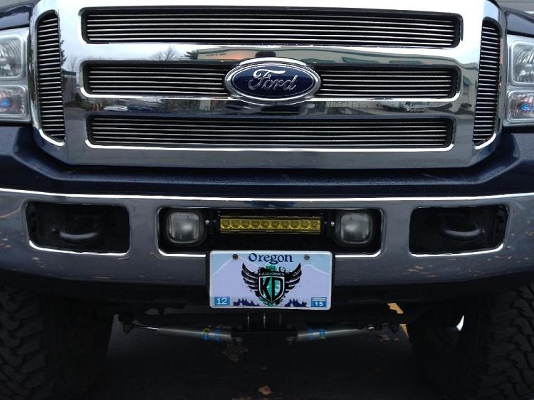 Kd Fabworks 10 Led Bumper Brackets 05 07 Ford