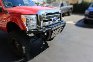 Carli Ford Fabricated Bumper